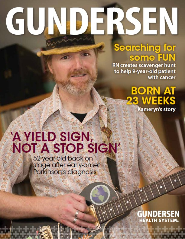 Gundersen Magazine Winter 2019 issue