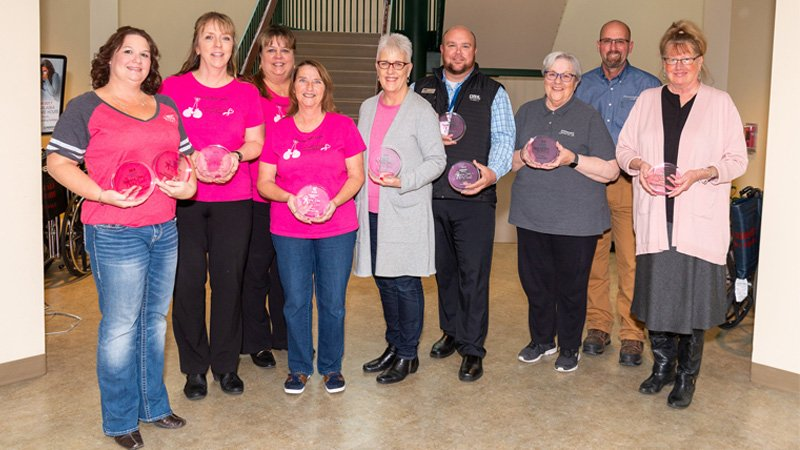 top fundraisers from the 14th annual Steppin' Out in Pink
