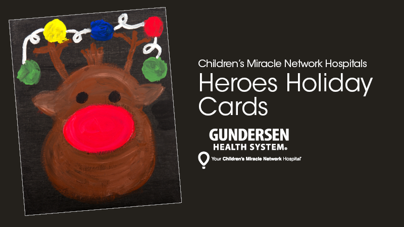 Children's Miracle Network holiday cards