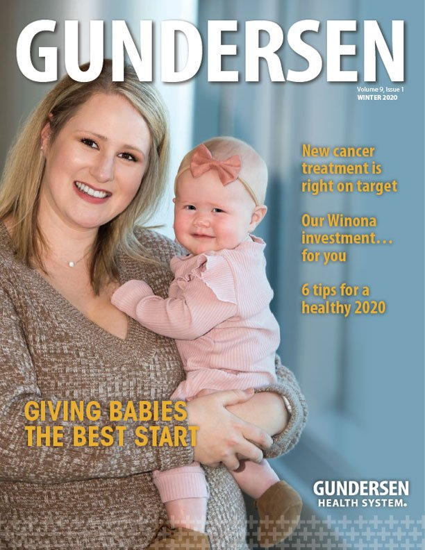 Gundersen Magazine Winter 2020 issue