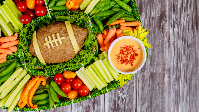 healthy eating tips for the big game