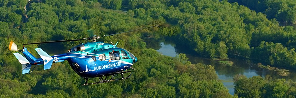 GundersenAIR in flight