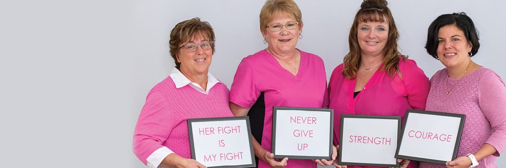 Hear from four local women on their cancer journey
