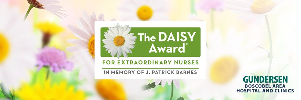 Nominate a nurse today for the DAISY award
