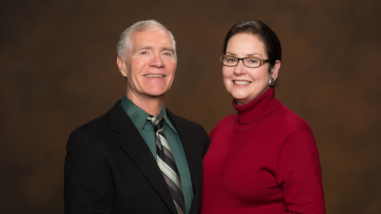Dr. Jeff and Sandy Thompson