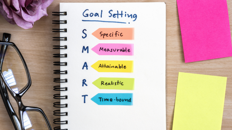 SMART goals - Maintaining a healthy lifestyle
