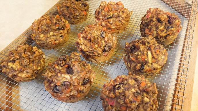 bran flax muffin recipe