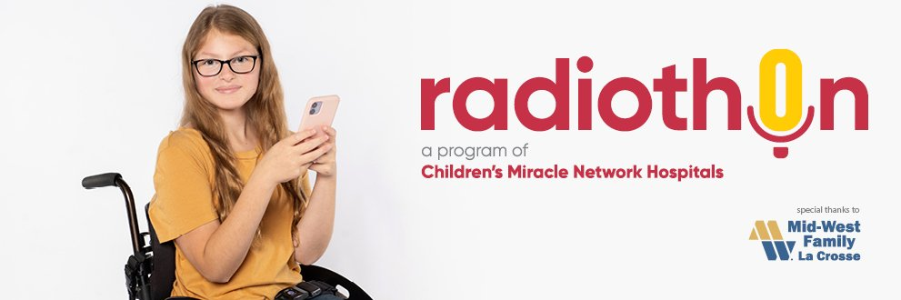 One of this year's heroes smiling. Children's Miracle Network Hospitals Month of Miracles.