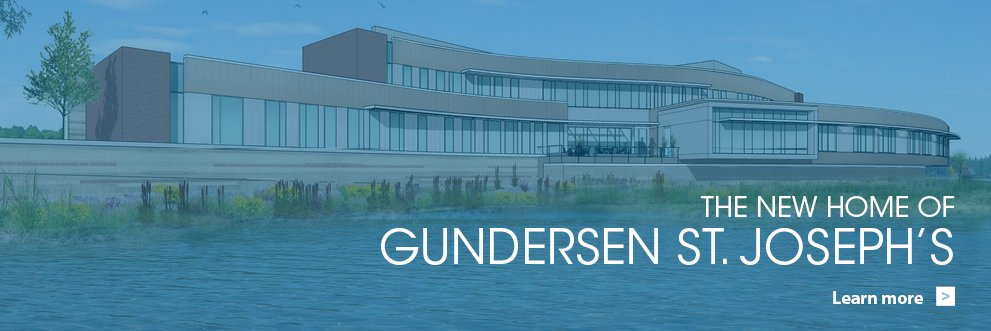 Gundersen St. Joseph's hospital and clinics new project information