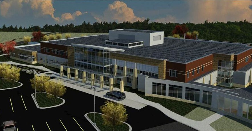 new Tomah Clinic rendering