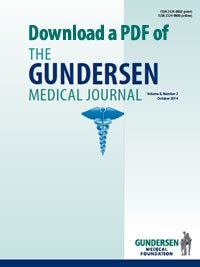 Gundersen Medical Journal Volume 9 Issue 2