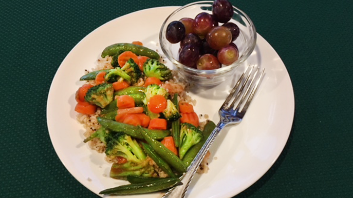 stir fry with plum sauce recipe