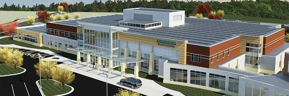 rendering of new Tomah Clinic