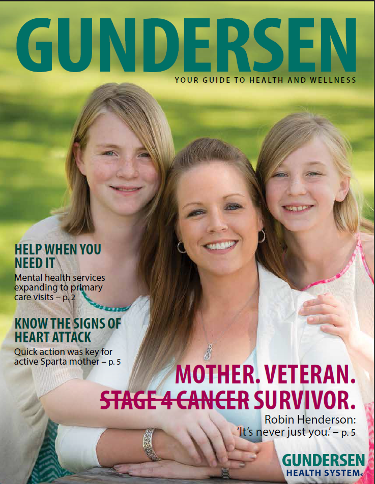 Gundersen Magazine Fall 2016 issue