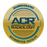 The Norma J. Vinger Center for Breast Care is an accredited facility for mammography by the American College of Radiology.