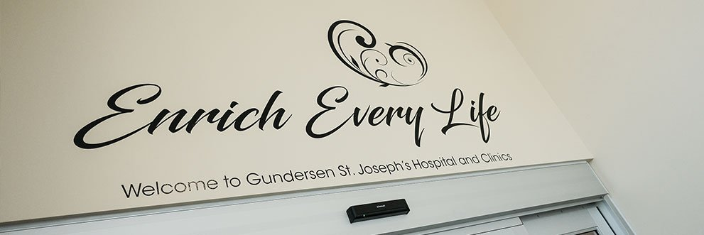 Gundersen St. Joseph's mission statement.