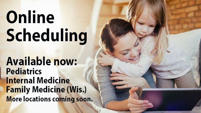 Online scheduling now available for primary care in Wisconsin
