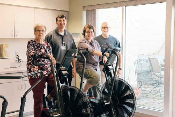 Donations provide new therapy bikes at Gundersen St. Joseph's