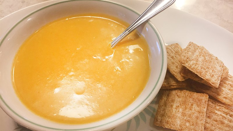 yellow squash soup recipe