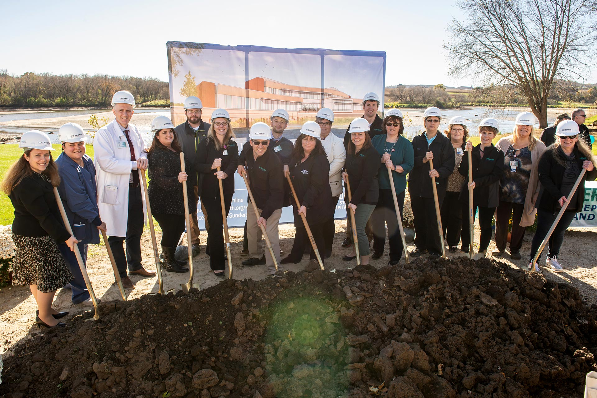 Gundersen St. Joseph's Breaks Ground