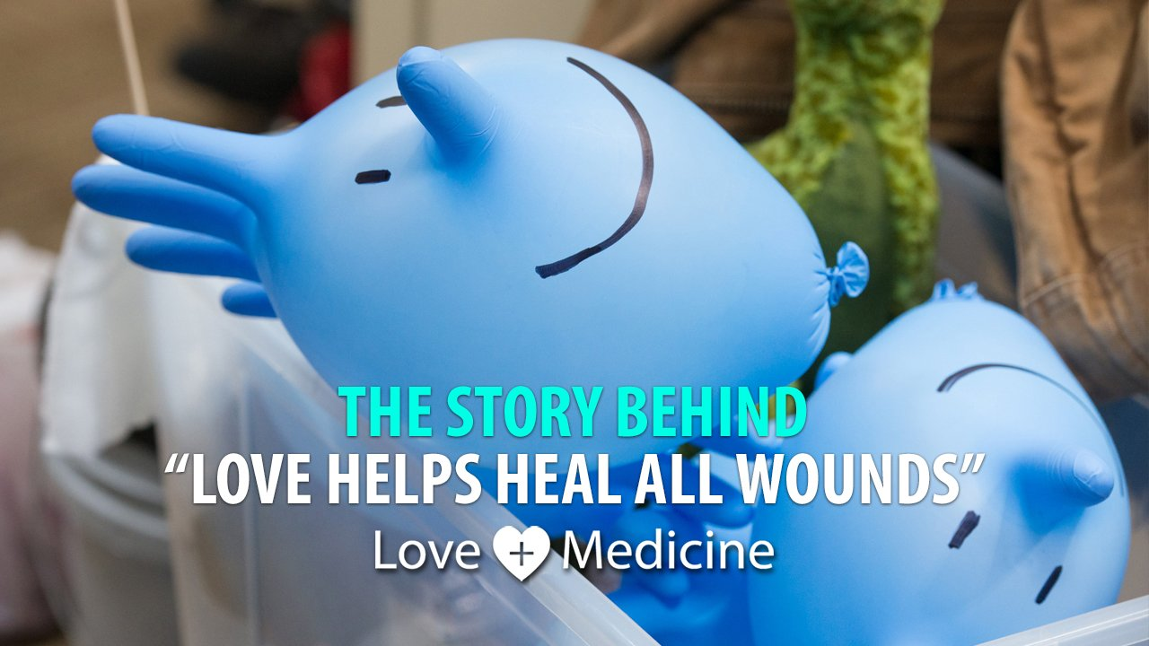 The Story Behind Love helps heal all wounds