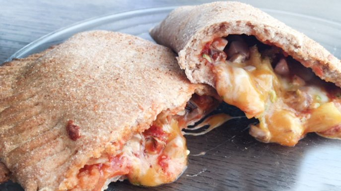 homemade pizza pockets recipe