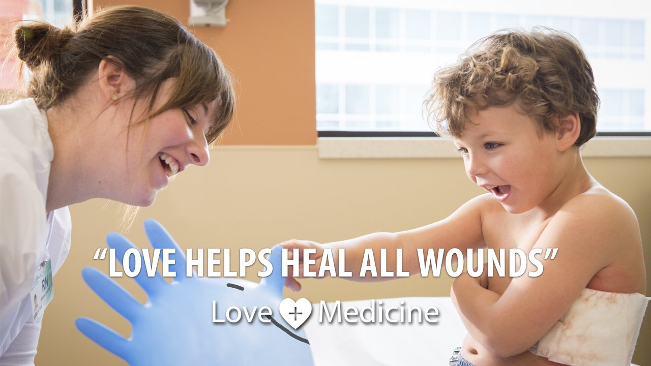 Love helps heal all wounds