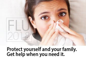 Flu 2018. Protect yourself and your family.