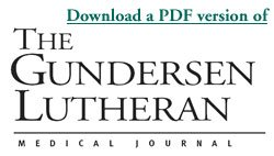 Gundersen Medical Journal Volume 7