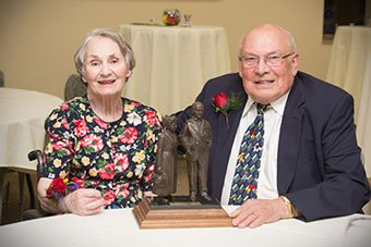 Van and Mary Elston get Founders Award