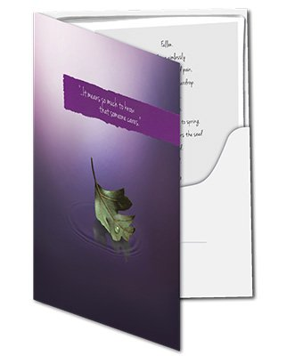 Bereavement Packet Folder with Resource Booklet