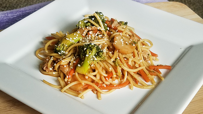 slow cooker chicken lo mein recipe