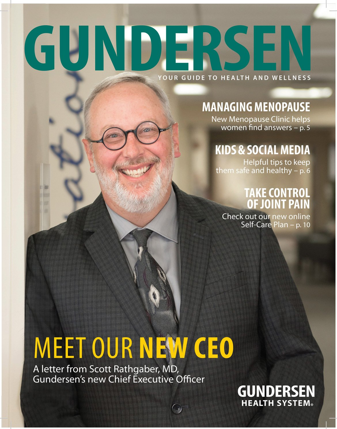 Gundersen Magazine Fall 2015 issue