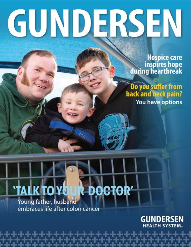 Gundersen Magazine Spring 2019 issue