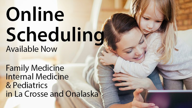 Online scheduling is now available