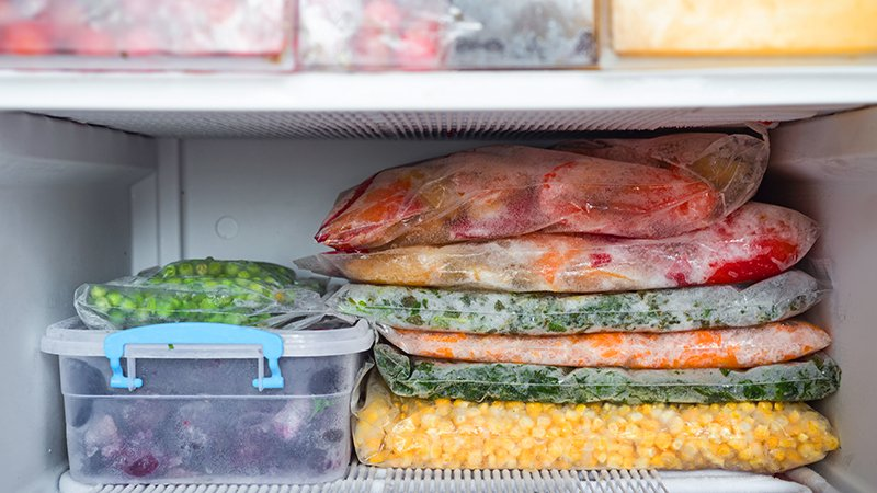 you freezer can aid in better health and time management