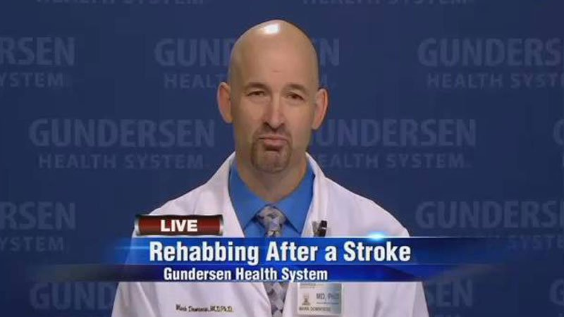 Dr. Domroese talks about stroke recovery