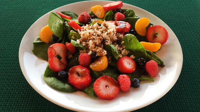 quinoa berry salad recipe