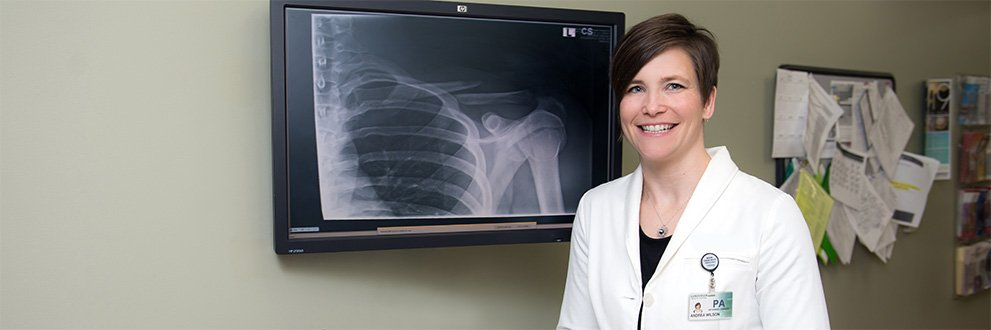 Decorah Orthopedics and Sports Medicine, Andrea Wilson, PA-C