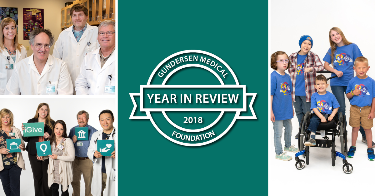 Gundersen Medical Foundation Year in Review