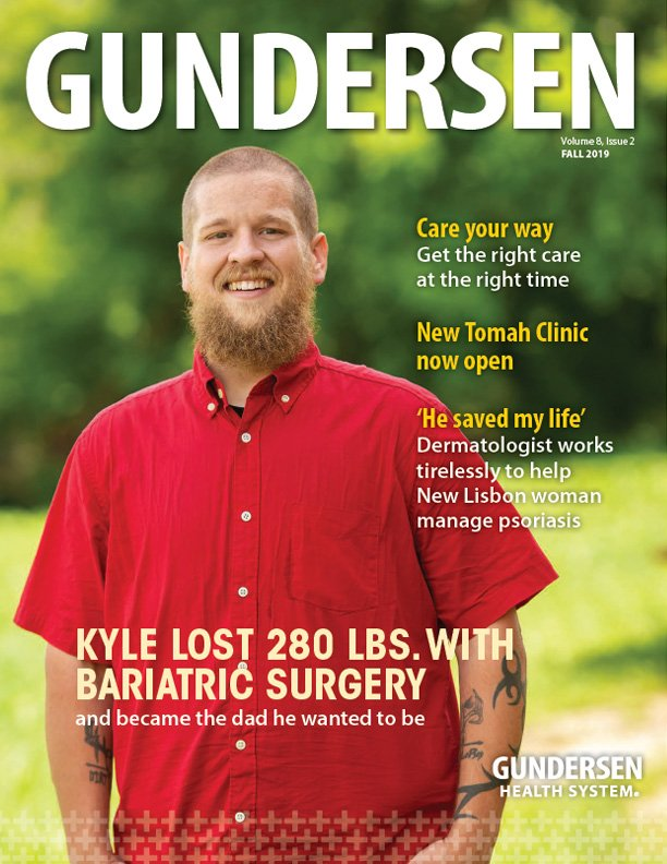 Gundersen Magazine Fall 2019 issue