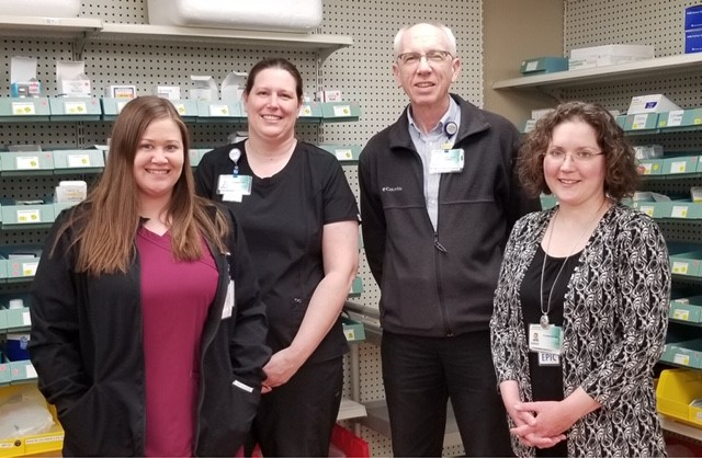 Boscobel Hospital Pharmacy team