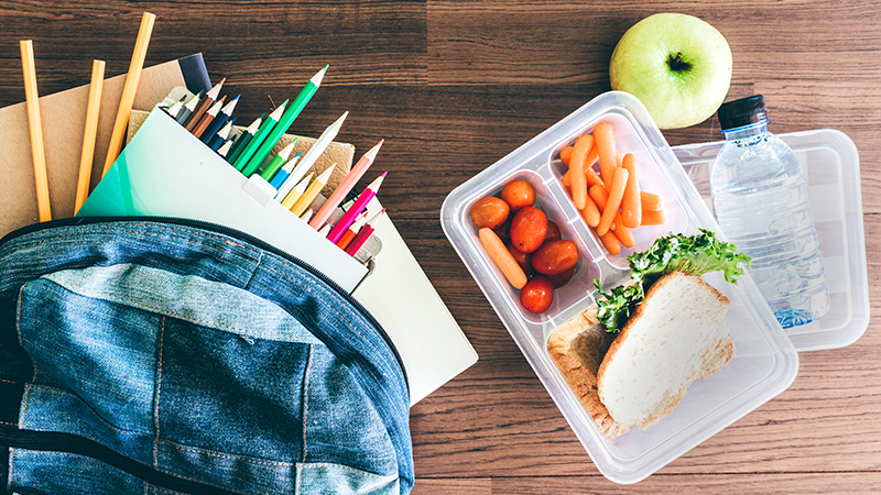 6 tips for packing your kids lunch
