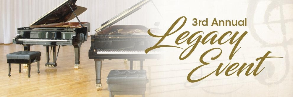 2nd Annual Legacy Event. Thursday, Oct. 18