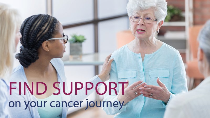 Find support on your cancer journey