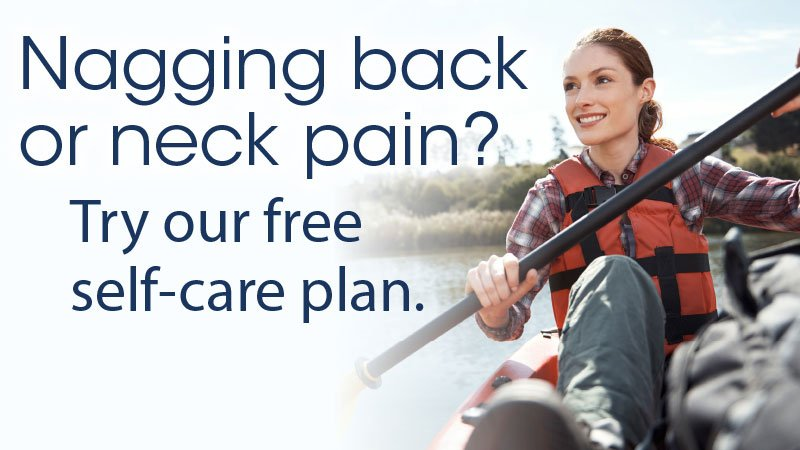 Back & Neck Care self-care plan