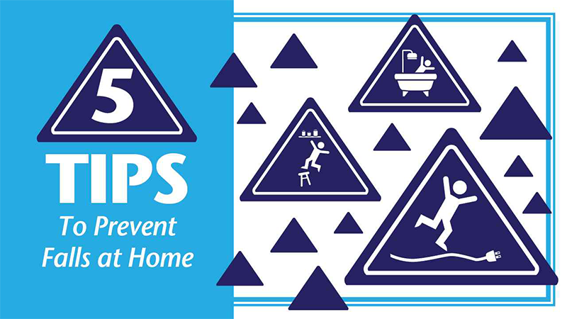 5 tips to prevent falls at home