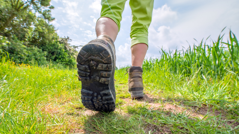 April 1 is National Walking Day