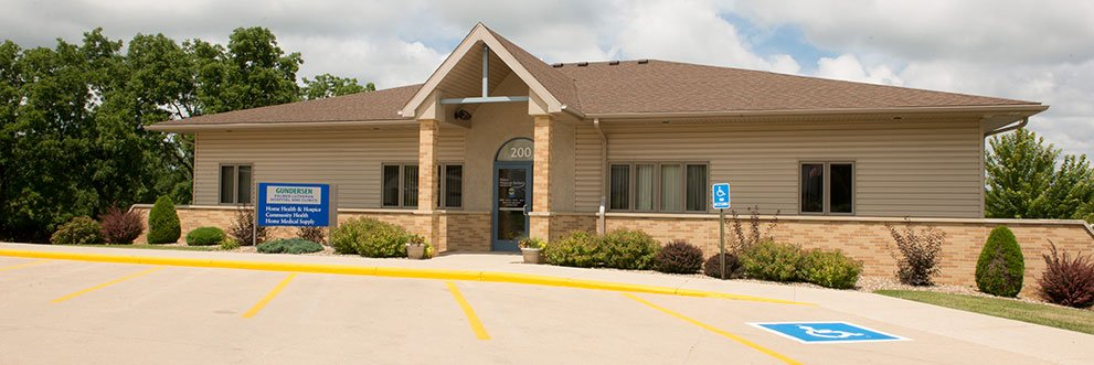 Gundersen Palmer hospice and home health services in West Union.