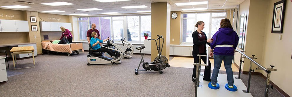 Rehab services at Gundersen Tri-County.